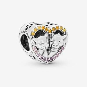 New Authentic Pandora Lion King Charm